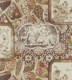 The wallpaper Mulberry China Spice/Plum - from Mulberry Home is wallpaper with the dimensions m x 10 m. The wallpaper Mulberry China Spice/Plum - F Plum Wallpaper, Bohemian Wallpaper, Home Wallpaper, China Spice, Mulberry Home, Drops Patterns, Collage Design, Designers Guild