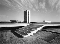 Niemeyer, Brasilia; by Lucien Hervé