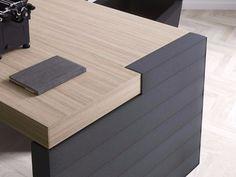 Descarga el catálogo y solicita al fabricante Jera | escritorio de oficina con cajones By las mobili, escritorio de oficina rectangular con cajones con estantes, Colección jera