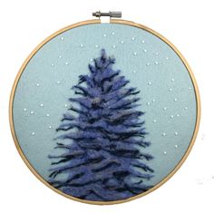 A personal favorite from my Etsy shop https://www.etsy.com/listing/491079879/pine-tree-art-winter-decor-pine-tree