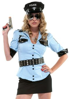 Women Police Officer Costume - Apparel Collection Uploaded by Priya Sharma Sexy Cop Costume, Sexy Halloween Costumes, Cool Costumes, Adult Costumes, Costumes For Women, Cosplay Costumes, Police Officer Costume, Cheap Lingerie, Wholesale Lingerie