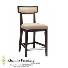 Kursi Mini Bar Jati Solid Cafe Furniture, Bar Stools, Mini, Interior, Modern, Home Decor, Bar Stool Sports, Trendy Tree, Indoor