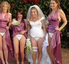 hilarious white trash REAL weddings