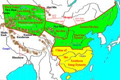 Partition of China into southern Song, Jin , Western Xia, Western liao (1126- 1279 AD)