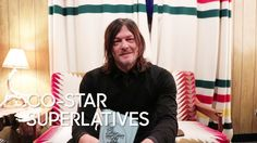 """The Tonight Show Starring Jimmy Fallon: Co-Star Superlatives: Norman Reedus """"The Walking Dead"""" Walker Zombie, Walking Dead Cake, Tonight Show, Jimmy Fallon, Norman Reedus, Just For Laughs, Comedy, It Cast, Actors"""