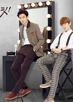 Chanyeol and Baekhyun