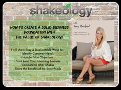 How to Create a Solid Business Foundation with the Value of Shakeology