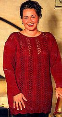 Ravelry: 0-66 Sweater in Cotton Viscose in large sizes pattern by DROPS design