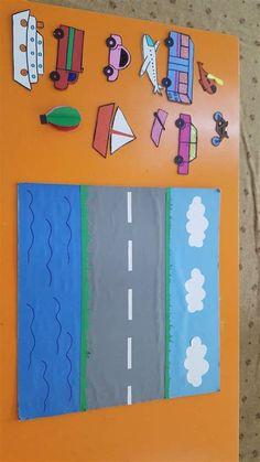 Transportation Preschool Activities, Transportation Activities, Preschool Learning Activities, Preschool Crafts, Toddler Activities, Kindergarten Learning, Toddler Crafts, Newborn Care, Diy Wedding