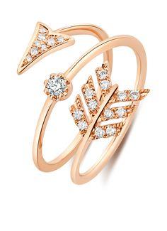 Roségouden ring
