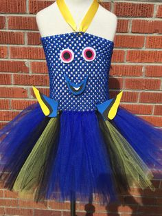 Dory Tutu Dress Dory Halloween Costume Dory by ChachaTutu