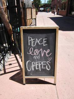 Breakfast, crepes, Flagstaff, AZ. funky, yet elegant outdoor restaurant located in Historic Downtown flagstaff