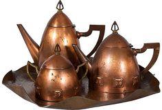 Arts & Crafts Tea Set, 4 Pcs