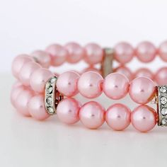 Two of my favorite things, pink and pearls <3