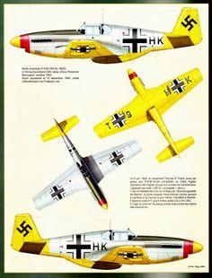 Captured North American P-51B
