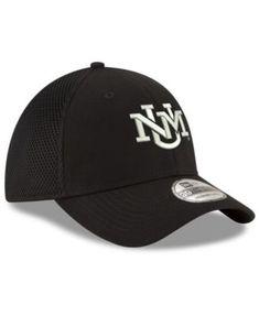 New Era New Mexico Lobos Black White Neo 39THIRTY Cap. Gorra New EraGorras  Para HombreEmblema Del ... 55f3e5a1268