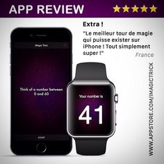iMagic Trick is available for the iPhone iPad and Apple Watch.  Perform the trick on your iPhone and reveal the magic number on your Watch.   Check it out: www.appstore.com/imagictrick  #magic #app #iphone #trick #applewatch #apple #apps #apple_watch #magical #magictrick #imagictrick #watchos #christmas #ios #ios9 #appstore #itunes #applestore #downloadnow #applewatchfans #iphone6 #iphone6s #iphone6plus #iphone6splus #ipad #ipadair #ipadpro #appletv #applewatchedition #applewatchsport by…