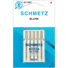 SCHMETZ-Universal Serger Machine Needles. Schmetz quality sewing machine needles have been manufactured to exacting standards since 1851. The choice of discriminating sewers world wide, only Schmetz p