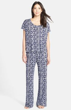 Lucky Brand Geo Print Pajamas available at #Nordstrom