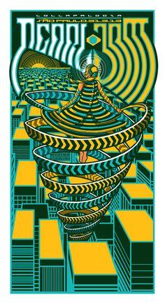 Pearl Jam – Sao Paulo 2013 by Brad Klausen.
