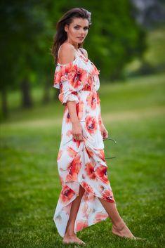 Descopera noua colectie Rochite de zi ! Smart Casual, Casual Chic, Day Dresses, Chic Outfits, Wrap Dress, Cold Shoulder Dress, Products, Fashion, Wedding