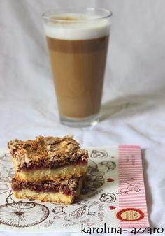 karolina-azzaro: Kokosový koláč s malinami