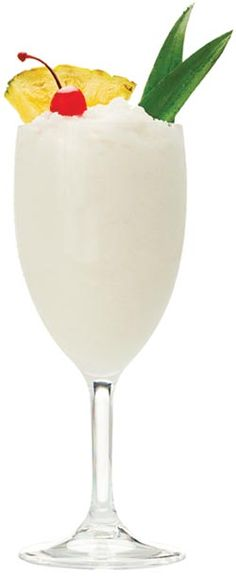 "Don Q Piña Colada  1 ½ oz. DonQ Gold Rum, 1 oz. coconut cream, 2 oz. unsweetened pineapple juice  (there are 2 recipes for a ""skinny"" version, both blended and on the rocks)"