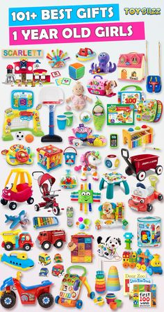 Browse our Christmas Gift Guide featuring Best Gifts For Girls. Discover the best toddler toys, educational toddler toys, and unique toddler gifts for your 1 year old girl. Make her Christmas extra magical with these delightful picks she'll love! Birthday Gifts For Girls, Baby Girl Gifts, Girl Birthday, 1st Birthday Present Girl, 1st Birthday Presents, 40th Birthday, Best Gifts For Girls, Cool Toys For Girls, Girls Toys