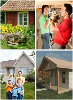 Free Small House Plans – Find building plans for more than 60 small houses, cabins, cottages and solar homes. Get started on your starter house, retirement home, guest cottage, rental unit, vacation getaway or backyard office or studio. Download your free plans today.