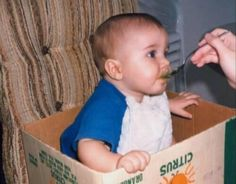 Justin as a baby (1/2)