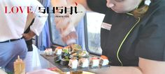 Love Sushi by Ambientes Perfeitos