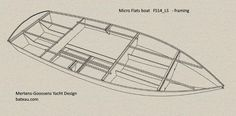 My Boats Plans - Flats boat, plan - Master Boat Builder with 31 Years of Experience Finally Releases Archive Of 518 Illustrated, Step-By-Step Boat Plans Buy A Boat, Diy Boat, Plywood Boat, Wood Boats, Yacht Design, Boat Design, Pedal Powered Kayak, Duck Blind Plans, Cruiser Boat