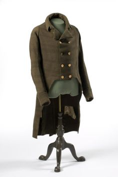 The 1811 Throckmorton coat, in The Saloon at Coughton Court, Warwickshire
