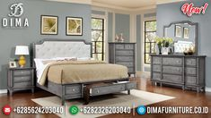 Promo Discount Kamar Set Minimalis Modern Cheap Price Furniture Jepara MMJ-0877