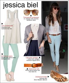 Love the skinny jeans color (via frugal fashionista)