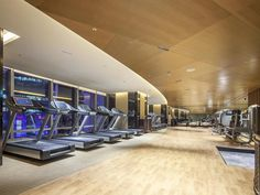 The westin chosun seoul fitness center gym by westin for Design hotel vietnam