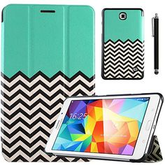 """Samsung Tab 4 7.0 Case, Samsung Tab 4 7.0 Case, ULAK Case for Samsung Galaxy Tab4 7.0"""" T230 /T231/ T235 Galaxy Tab 4 Nook Slim Flip Stand PU Leather tablet Cover Skin Stander with Screen Protector + Stylus (Follow the Sky) ULAK http://www.amazon.com/dp/B00PLB33XY/ref=cm_sw_r_pi_dp_ytWBub1SCQMM4"""