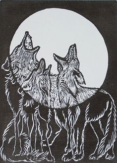 """Maybe the wolf is in love with the moon, and each month it cries for a love it will never touch."""