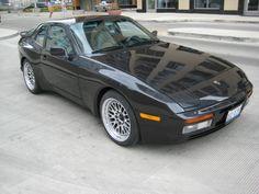 1986 Porsche 944 Turbo - Black