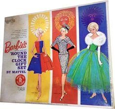 Round the clock Barbie doll 3 Play Barbie, Barbie Dolls, Best Memories, Vintage Barbie, Aurora Sleeping Beauty, Clock, Fancy, Disney Princess, Disney Characters