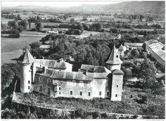 """Frankreich - CPSM FRANCE 38 """" Vignieu, Château de Chapeau"""""""