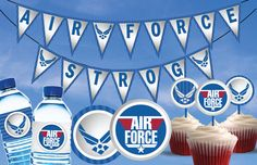 Air Force Party Printables by PartyByAPrincess on Etsy