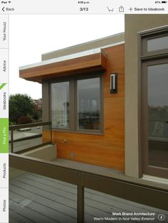 warm modern in noe valley exterior modern exterior san francisco mark brand architecture - Modern Home Exterior Siding