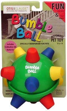 Crazy Pet Bumble Ball | Interactive Dog Toys--didn't know they made these for dogs! I had one when I was a little kid!