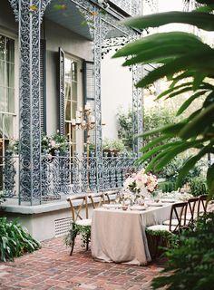 A Secret Garden Inspired Wedding Reception