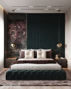 Awesome Luxury Modern Master Bedroom Design will Inspire You - home decor update Luxury Bedroom Design, Bedroom Bed Design, Home Room Design, Luxury Home Decor, Home Decor Bedroom, Cheap Home Decor, Home Interior Design, Home Decoration, Modern Luxury Bedroom