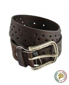 Cinturón Informal Marrón para Hombre