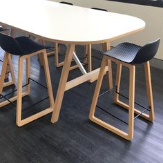 Create breakout spaces with a difference - Anthem table with Spin stools Office Furniture, Stools, Spinning, Commercial, Spaces, Create, Table, Projects, Instagram