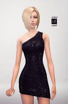 7 SEQUIN DRESSES + BONUS at xxxxxx via Sims 4 Updates
