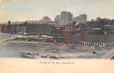 Cincinnati riverfront 1905